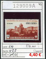 Schweiz - Suisse - Switzerland - Svizzera - Michel 422 - ** Mnh Neuf Postfris - Unused Stamps