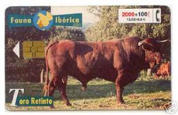 *SPAGNA - FAUNA IBERICA: TORO RETINTO* - Scheda Usata - Emisiones Básicas