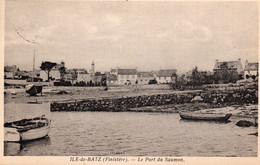 Ile De Batz - Le Port Du Saumon - Ile-de-Batz