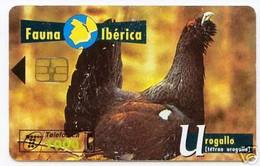 *SPAGNA - FAUNA IBERICA: UROGALLO* - Scheda Usata - Emisiones Básicas