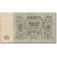 Billet, Russie, 500 Rubles, 1918, KM:S415c, SUP - Russia