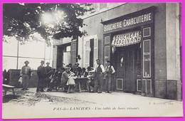 Cpa Pas Des Lanciers Café Boucherie Ferdinand CP 13 Bouches Du Rhône Rare Proche Saint Victoret Marignane St - Andere Gemeenten