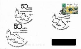 SPAIN. POSTMARK LA PUEBLA VIEJA. ARTISTIC HISTORICAL SET. LAREDO 2020 - Non Classés