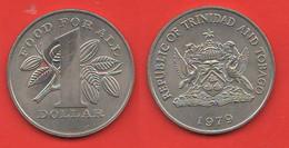Trinidad & Tobago 1 Dollaro 1979 FAO - Trinidad & Tobago