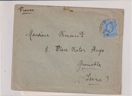 SOMALILAND-LS-TP N°23 OB- CAD SEPT 1904- POUR LA FRANCE - Somaliland (Herrschaft ...-1959)