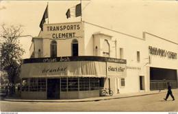 MAROC  PORT- LYAUTEY  Les Transports Clément Et L' Oran Bar  ..... KENITRA - Andere