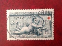 FRANCE OBLITÉRÉ N° 937 Croix Rouge - Oblitérés