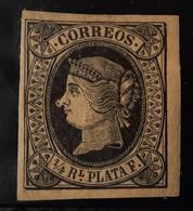 Cuba N12* Con ( Punto En La Nariz No Catalogado - Cuba (1874-1898)