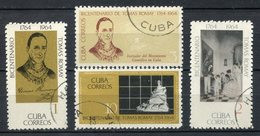 Cuba 1964. Yvert 805-08 Usado. - Usados