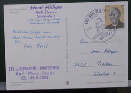 Postkarto Kun Esperanto Stampo. - Cartas