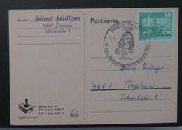 Postkarto Kun Esperanto Stampo. 1980 - Cartas