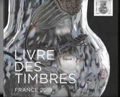 Année 2018 : Livre Des Timbres SANS Les Timbres En Parfait état - Documenti Della Posta
