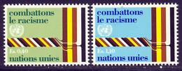 NU (Geneve) 1977 Yvert 68 / 69 ** TB - Nuevos