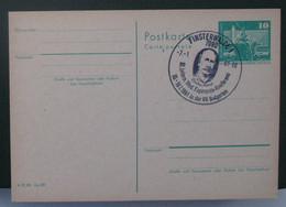 Postkarto Kun Speciala Esperanto Stampo 1981 - Cartas
