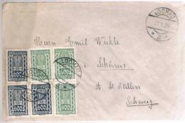 Austria, 1924, For Schannis - Cartas