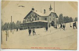 CPA Suisse - Mont Soleil S/ ST IMIER - Hôtel Beau Séjour  Skieurs Hôtel 1908 - BE Bern