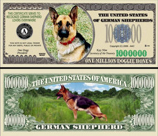 !!! USA - FANTASY NOTE -  GERMAN  SHEPHERD  DOG , 2006 - UNC / SERIES  WOOF - Other