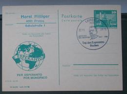 Privata Eldono De Postkarto Kun Esperanto Stampo 1988 - Cartas