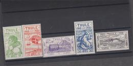 THULE (Danemark Groenland) 5 T Xx - N° YT 1 à 5 - 1935 - Thule