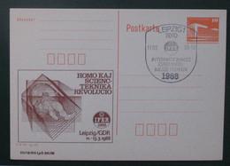 Privata Eldono De Postkarto Kun Esperanto Stampo 1988 IFER - Cartas