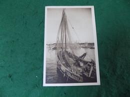 VINTAGE FRANCE: CONCARNEAU Sardiniers Au Port Yvonne Andre Sepia Fishing Yvon - Concarneau
