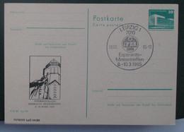 Privata Eldono De Postkarto Kun Esperanto Stampo 1985 IFER - Cartas