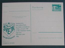 Privata Eldono De Postkarto. Svejk En Esperanto 1983 - Cartas