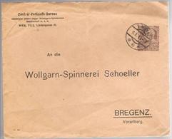 Austria, 1913, For Bregenz - Brieven En Documenten