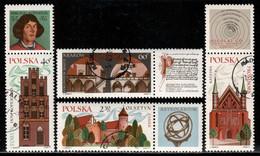 Poland 1971 Mi# 2088-2091 Zf Used - Nicolaus Copernicus / Astronomer / Space - Usados