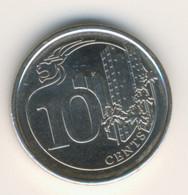 SINGAPORE 2016: 10 Cents, KM 346 - Singapore