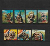 Bhutan : 1976 : Maskers : 7 Verschillende Postfrisse Zegels / 7 Different Stamps MNH / 7 Timbres Neufs Différents - Bhután