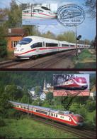62414 Germany, 4 Maximum 2006 Trains, Züge,   (see 2 Scan) - Cartas Máxima