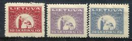 Lituanie        56/58 * - Litouwen
