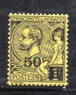 XP2261 - MONACO 1922 , Unificato N. 53 Nuovo *  Linguella - Unused Stamps