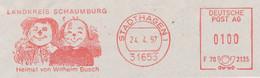 Freistempel 0088 Max Und Moritz Wilhelm Busch - Affrancature Meccaniche Rosse (EMA)
