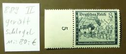 Deutsches Reich Michel Nr: 889 II   Geprüft Schlegel  Postfrisch ** MNH   #5435 - Engraving Errors