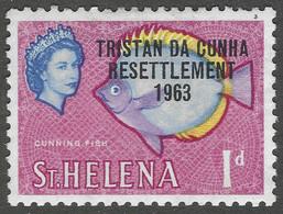 Tristan Da Cunha. 1963 Tristan Resettlement. 1d MH. SG 55 - Tristan Da Cunha
