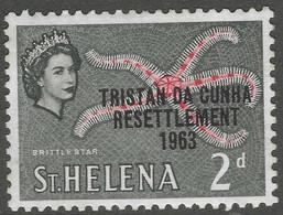 Tristan Da Cunha. 1963 Tristan Resettlement. 2d MH. SG 57 - Tristan Da Cunha