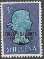 Tristan Da Cunha. 1963 Tristan Resettlement. 3d MH. SG 58 - Tristan Da Cunha