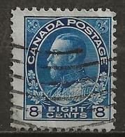 CANADA: Obl., N° YT 115, TB - Oblitérés