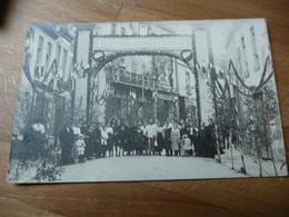 61 - Mortagne  Souvenir Fetes 20 Juin 1920 Gloire Aux Combattants  Carte Photo - Mortagne Au Perche