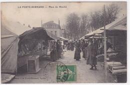 Sarthe - La Ferté-Bernard - Place Du Marché - La Ferte Bernard