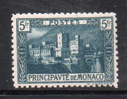 XP2803 - MONACO 1922 ,  5 Fr N. 63 * Linguellato - Unused Stamps