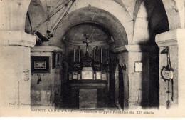 Apt Ste Sainte Anne D'apt Premiere Crypte Romane - Apt