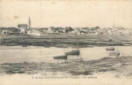 CPA 85 Vendée Saint Gilles St Croix De Vie Vue Générale - Saint Gilles Croix De Vie