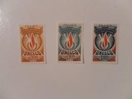 FRANCE SERVICE YT SE 43/45 U.N.E.S.C.O.** - Neufs