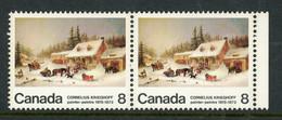"Canada MNH  1972 ""The Blacksmith Shop"" - Neufs"