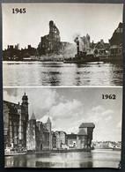 Gdańsk 1945/1962 Modlawa River - Poland
