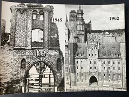 Gdańsk 1945/1962 La Porte Notre-Dame - Poland