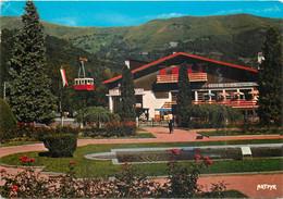 65  Vallée D'aure  Saint Lary Le Téléférique Vu Du Parc    N° 26\MM5051 - Vielle Aure